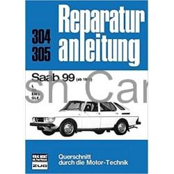 Reparatur anleitung SAAB 99 ab 1975