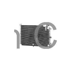 Condenser, Air conditioner to '90, SAAB 9000