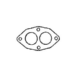 Gasket, Exhaust pipe 1.7ltr, 1.85ltr, B20, SAAB 99