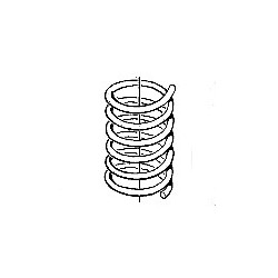 Suspension spring Front axle Spring code: AX, SAAB 9-3
