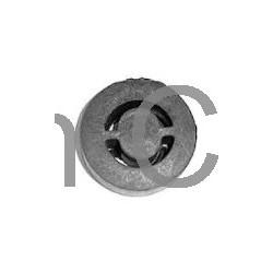 Rubber mount, Silencer, SAAB 99, 900