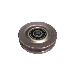 Tensioner pulley, V-belt, SAAB 900, 9000