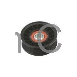 Tensioner pulley, V-ribbed belt, SAAB 900, 9000