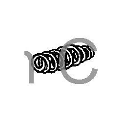 Spring, Clutch master cylinder, SAAB 95, 96, 90, 99, 900, 9000