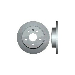 Brake disc Rear axle non vented diameter: 16 Inch, SAAB 9-5