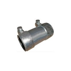 Pipe connector, Exhaust system Double clamp 44 mm 125 mm Steel