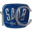 "Emblem Bonnet ""SAAB"", SAAB 95, 96"