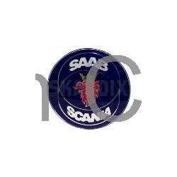 """Embleem achterklep """"Saab/Scania"""" 2- & 4-deurs en cabrio, SAAB 900."""