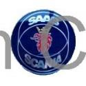 """Emblem Tailgate """"SAAB-SCANIA"""", SAAB 900"""