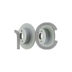 Brake disc Rear axle non vented, SAAB 900, 9-3, 9-5