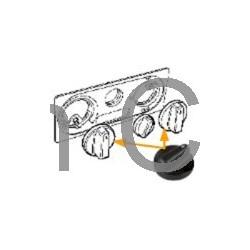 Verwarming en ventilatie, 900, 9-3, kachelknop