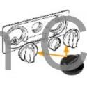 Knob Slider, Heating selector, SAAB 900, 9-3