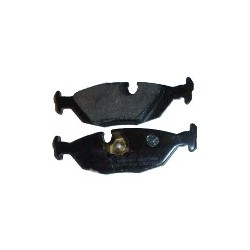 Brake pad set Rear axle, SAAB 900, 9000