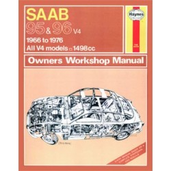 Haynes Owners Workshop Manual SAAB 95 en 96