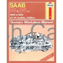 Haynes Owners Workshop Manual SAAB 95 en 96