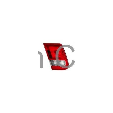 Achterlicht combinatie links binnen sectie met mistachterlicht 4-deurs tot '07, SAAB 9-3