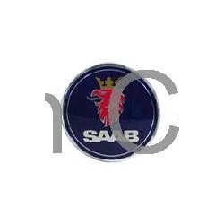 """Embleem achterklep """"Saab"""" diameter: 70,5 mm, SAAB 9-3"""