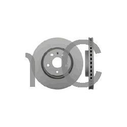 Brake disc Front axle internally vented, SAAB 9-5