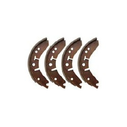 Brake shoe set Front axle Rear axle