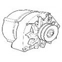 Alternator 80 A B202- tot '93, SAAB 9000