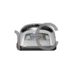 Kentekenplaatverlichting glas, SAAB 93